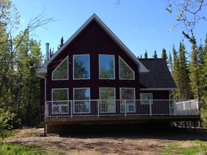 New Lakefront Home on Lake Athapuskow Cranberry Portage MB