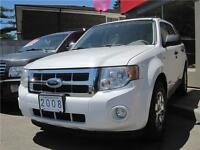 2008 Ford Escape XLT 4WD • 177,000 KM • | LEATHER | SUNROOF |