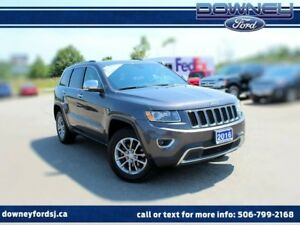 2016 Jeep Grand Cherokee Limited 4x4 Leather Power Htd seats Bac