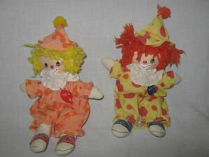 CLOWN  DOLLS  (Truro)