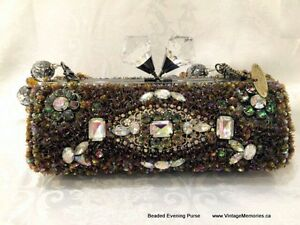 Brand new handcrafted hand bag evening purse On Sale