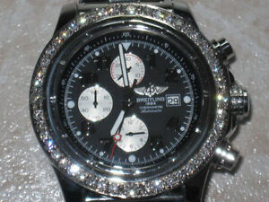 BREITLING 48MM--48 DIAMONDS--100% ORIGINALE