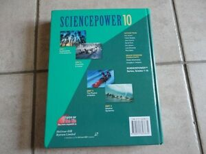 SciencePower 10 hardcover textbook London Ontario image 2