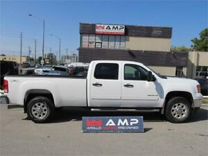 2013 GMC Sierra 3500HD 4x4 DURAMAX  DIESEL ALLOYS BOARDS
