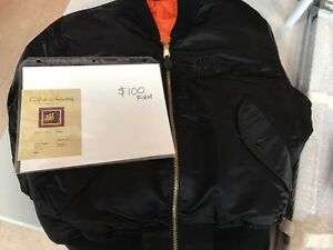 "Authentic ""That 70's Show"" black satin jacket"