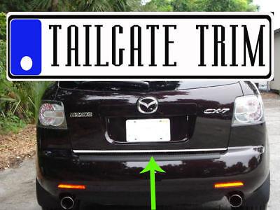(Mazda CX7 CX-7 2007 2008 2009 2010-2012 Chrome Tailgate Trunk Trim Molding)