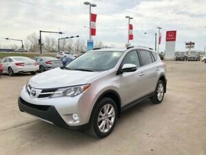 2014 Toyota RAV4 Limited- Navigation, Accident Free!