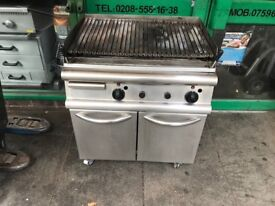 gas lava rock stone grill commercial catering equipment restaurant gas grill gas grill commercial