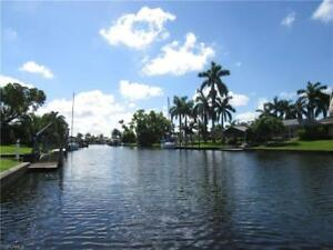 Cape Coral Florida USA Gulf access