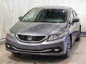 2014 Honda Civic Touring Sedan Automatic w/ Navigation, Sunroof,