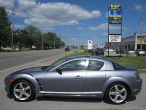 LOW kms 123900 !!! NO RUST AT ALL !!! 2005 MAZDARX8 GT