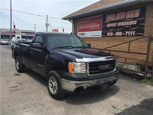 2007 GMC Sierra 1500 WT***LONG BOX***LEATHER****ONLY 162 KMS