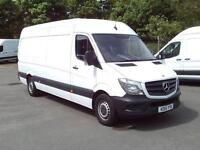 Mercedes-Benz Sprinter 313 CDI LWB 3.5t High Roof Van DIESEL MANUAL WHITE (2015)
