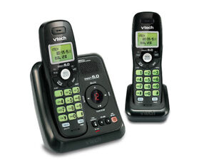 VTech CS6124-21 DECT 6.0 Cordless Phone and Answering System - 2