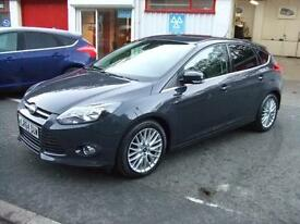 2014 Ford Focus 1.6TDCi 115ps Zetec 5 Door Hatch Diesel Car s Only 25.350 Miles