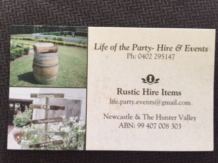 Life of the Party- Hire and Events Adamstown Heights Newcastle Area Preview
