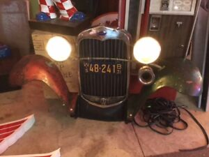 1930 Model A front grill lights
