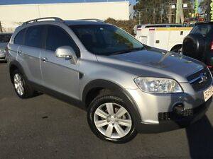 2007 Holden Captiva CG MY08 LX (4x4) Silver 5 Speed Automatic Wagon Southport Gold Coast City Preview