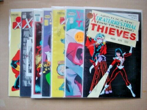 Aristocratic Xtraterrestrial Time-Traveling Thieves #1,5,7,8,9,10,11. VF+8.5