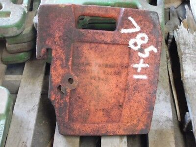Case Front 75 Lb. Suitcase Weight Part 0100 Tag 785