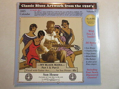 CLASSIC BLUES ARTWORK FROM THE 1920's VOLUME II 2005 CALENDAR W/16 SONG (Classic Blues Artwork From The 1920s Calendar)