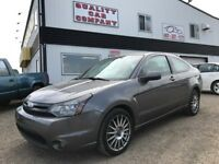 2010 Ford Focus SES Leather, sunroof. Auto. ONLY $7450!!! Red Deer Alberta Preview
