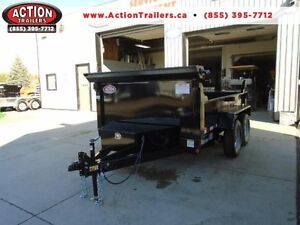 6X10 HYDRAULIC DUMP TRAILER - THIS SALE PRICING WONT LAST LONG!