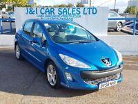 PEUGEOT 308 1.6 SPORT HDI 5d 108 BHP (blue) 2008