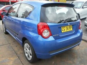 2008 Holden Barina TK Blue Manual Hatchback Croydon Burwood Area Preview