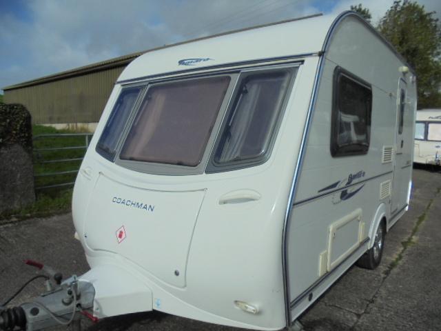 2006 Coachman Amara 380-2 2 Berth End Kitchen Caravan with Motor Mover For Sale