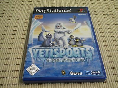 Yetisports Arctic Adventures für Playstation 2 PS2 PS 2 *OVP*