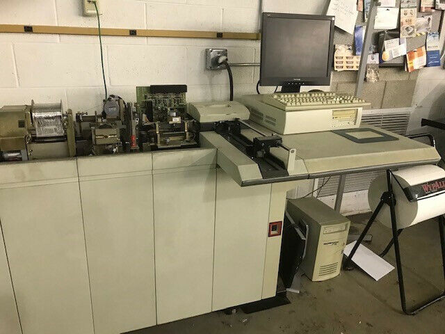 DATACARD 7000 Machine with all parts