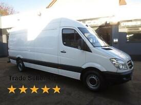 2013 Mercedes-Benz Sprinter 313 2.2CDi 129ps LWB High Roof E/W Diesel white Man