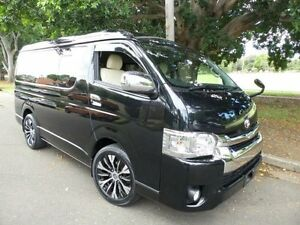2015 Toyota Hiace Low Roof Wide Body Lon 10 Seater Black Automatic Van Concord Canada Bay Area Preview