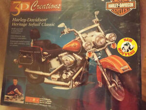 HARLEY DAVIDSON  HERITAGE SOFTAIL  3D PUZZLE