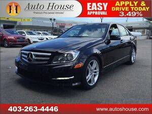 2013 Mercedes-Benz C-Class C300 AWD, NAV 90 DAYS NO PYMT