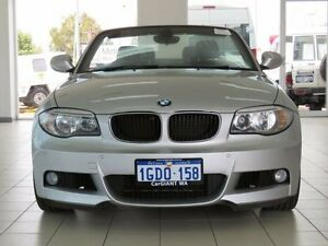 2012 BMW 125I E88 MY12 Update 25i Silver 6 Speed Automatic Convertible Morley Bayswater Area Preview