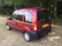 Renault Kangoo 1.2 SHOWROOM CONDITION DISABLED VEHICLE WAV WHEELCHAIR ACCESS