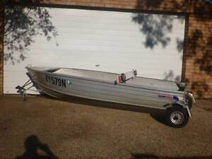 12ft tinnie and roof rack Forster Great Lakes Area Preview