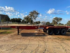 Trailer Skel Trailer Southern Cross 20/40 Container pins Tri SN1149 Malaga Swan Area Preview
