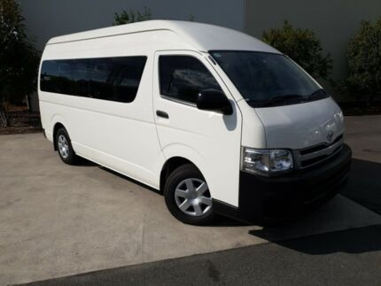 2012 Toyota Hiace KDH223R MY12 Commuter High Roof Super LWB White 4 Speed Automatic Bus Robina Gold Coast South Preview