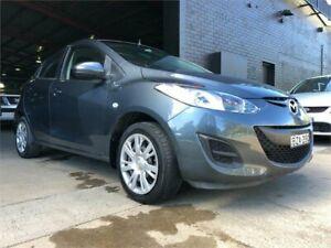 2011 Mazda 2 DE10Y1 MY10 Neo Grey Manual Hatchback