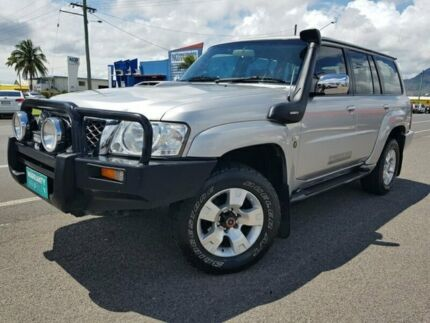 2007 Nissan Patrol GU 6 MY08 ST Silver 4 Speed Automatic Wagon Bungalow Cairns City Preview