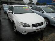 2005 Subaru Outback B4A MY05 AWD White 4 Speed Sports Automatic Wagon Lawnton Pine Rivers Area Preview