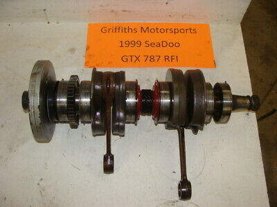 1999 99 00 01 02 SEA DOO GTX  800 787 RFI EFI crankshaft crank shaft rods core