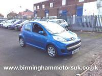 2010 (10 Reg) Peugeot 107 1.0 Urban 5DR Hatchback BLUE + LOW MILES