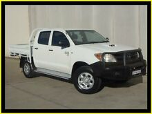 2008 Toyota Hilux KUN26R 07 Upgrade SR (4x4) White 5 Speed Manual Dual Cab Chassis Penrith Penrith Area Preview