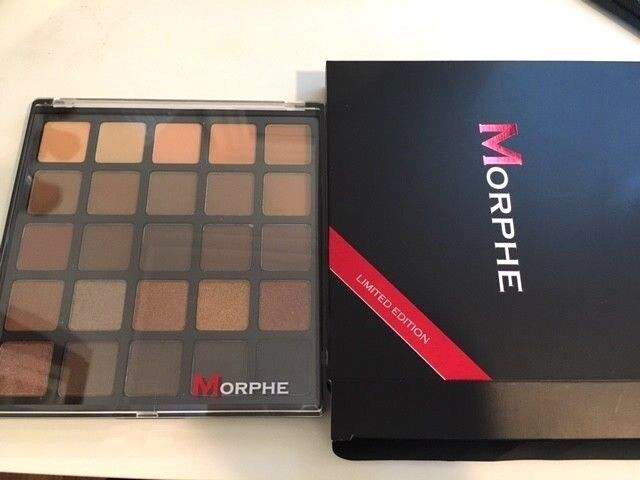 New Morphe 25A Copper Spice Eyeshadow Palette BNIB Authentic