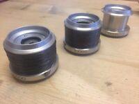 3 Shimano Spare Spools For Sale