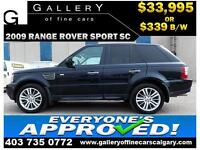 2009 Range Rover SUPERCHARGED $339 bi-weekly APPLY NOW DRIVE NOW